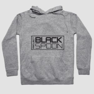 Hoodie with Project Black Spoon Logo