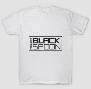 Tee with Project Black Spoon Logo